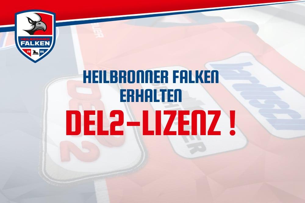Heilbronner Falken erhalten DEL2-Lizenz