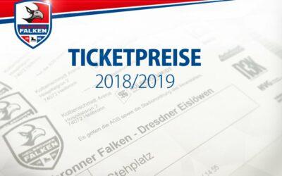 Heilbronner Falken ändern Eintrittspreise