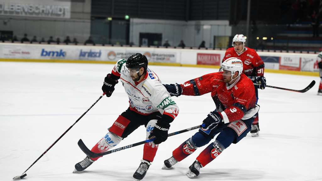 3:2 Erfolg gegen den EC Bad Nauheim
