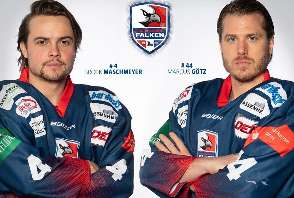 Maschmeyer und Götz verlängern bei den Heilbronner Falken