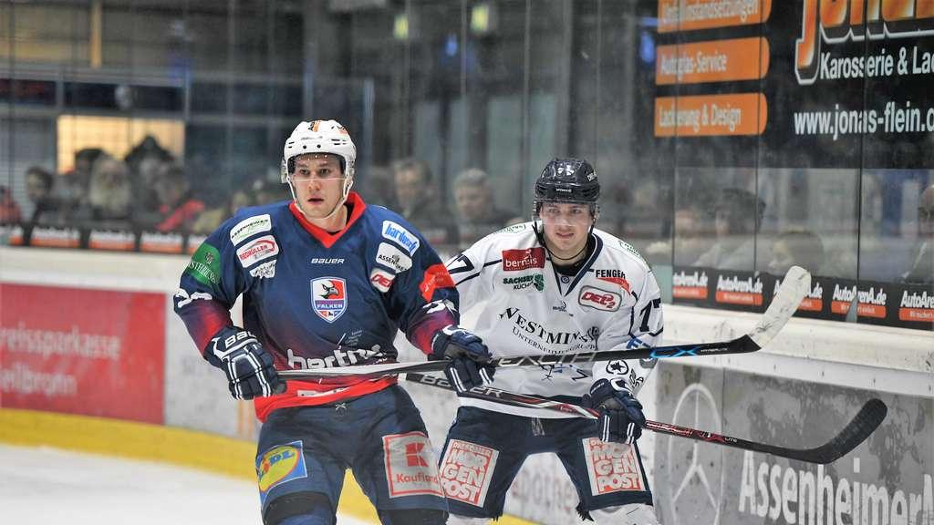 Falken verlieren in Overtime gegen Dresden
