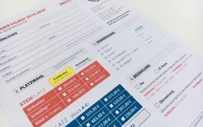 Preisgestaltung im Bereich Ticketing 2019/2020