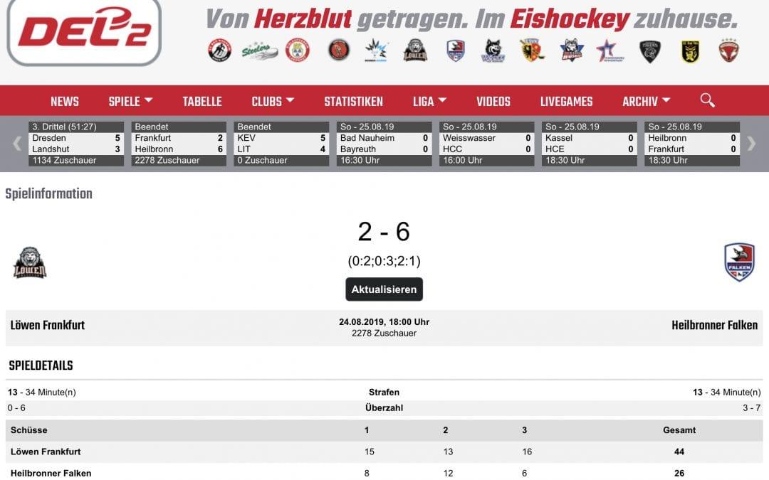 6:2 Erfolg in Frankfurt