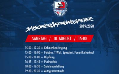 Falken feiern Saisoneröffnung 2019/2020
