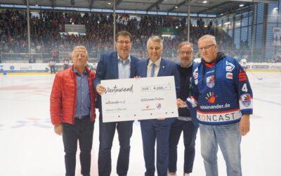 Falken erzielen 4.000,- EUR für den guten Zweck