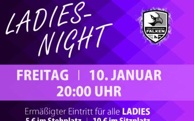 Falken veranstalten Ladies-Night am 10.Januar 2020