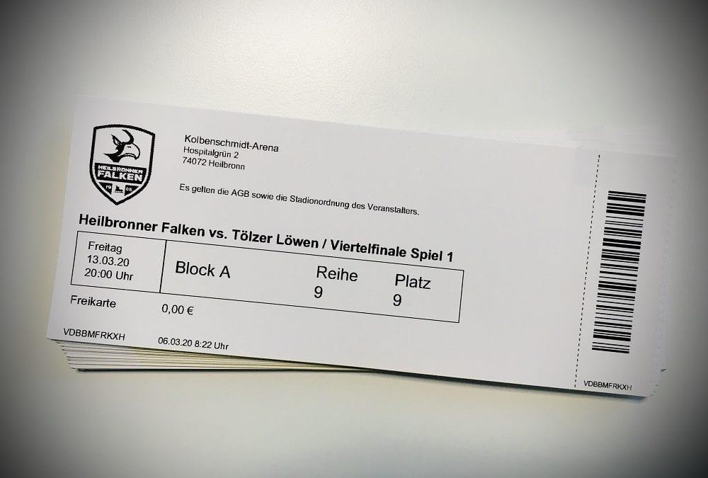 Rückerstattung von Playoff-Tickets