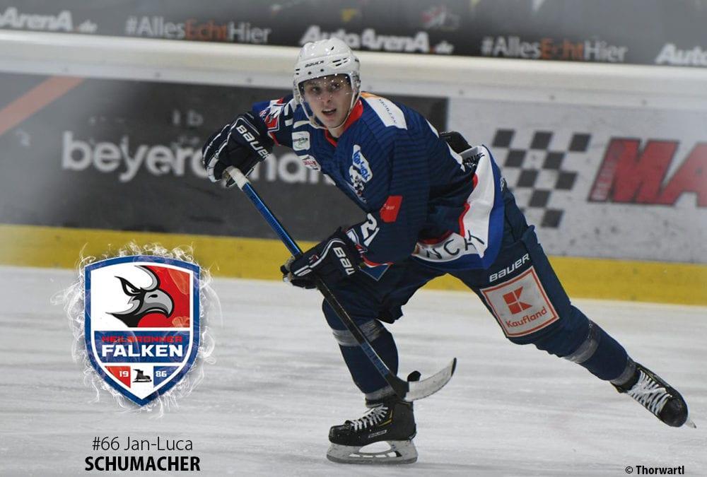 Jan-Luca Schumacher erhält DEL2-Fördervertrag