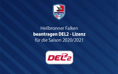 Falken beantragen DEL2-Lizenz