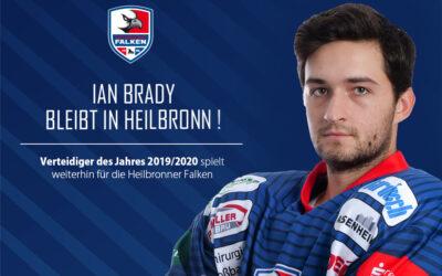 Top-Verteidiger Ian Brady bleibt in Heilbronn