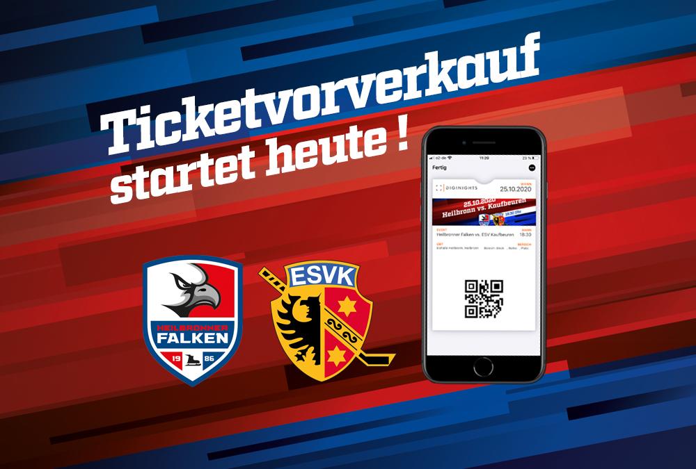 Falken mit neuem Ticketanbieter in der Saison 2020/2021