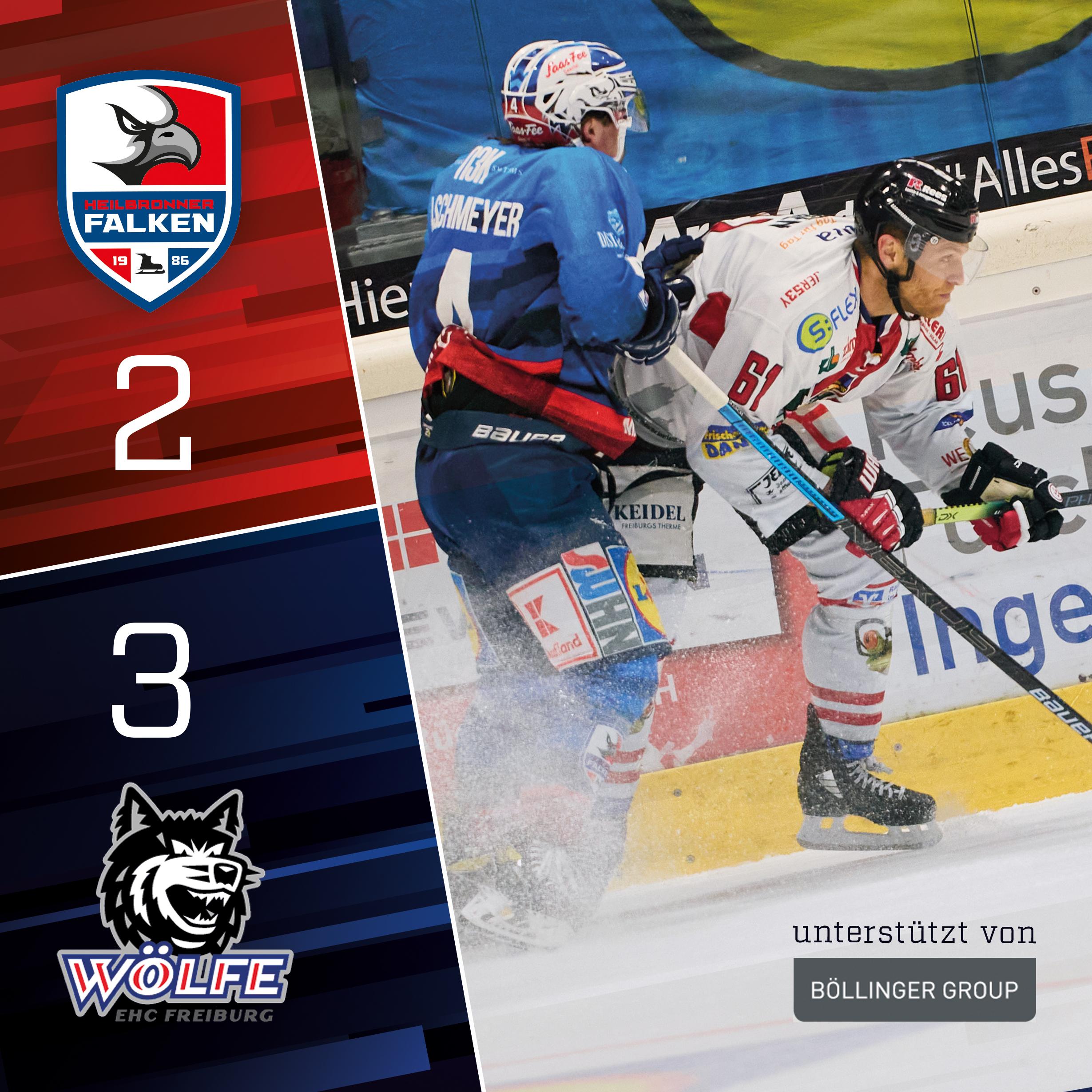 Punktgewinn gegen die Wölfe Freiburg