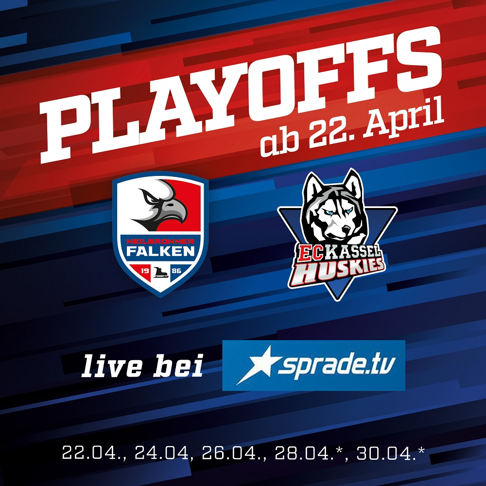 Falken starten am 22. April in die Playoffs
