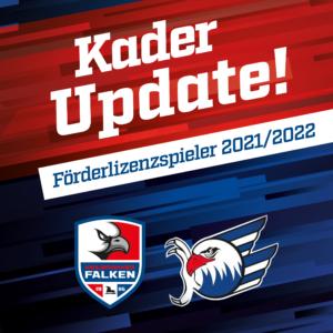 Falken besetzen Förderlizenzstellen 2021/2022