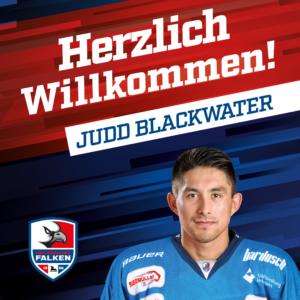 Judd Blackwater besetzt erste Importstelle