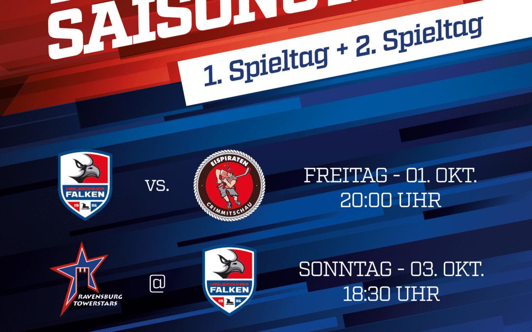 Falken starten mit Heimspiel in die Saison 2021/2022