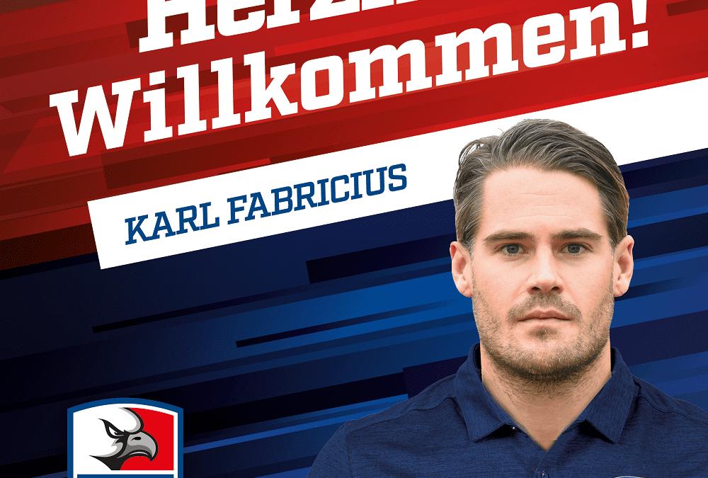 Karl Fabricius verstärkt den Falkensturm