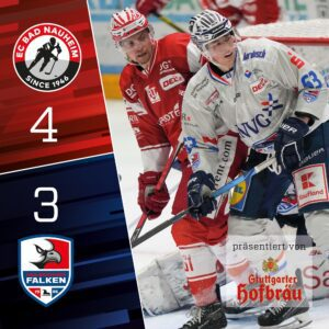 Overtime-Niederlage in Bad Nauheim